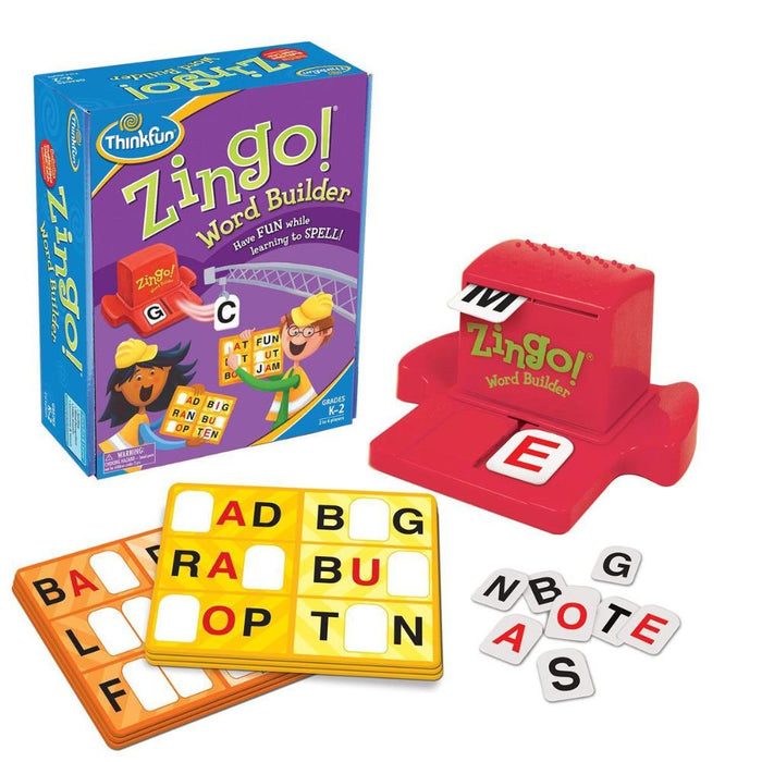 ThinkFun Zingo! - Word Builder Educational Game