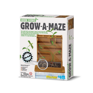 4M Kidzlabs Green Science Grow A Maze Kit