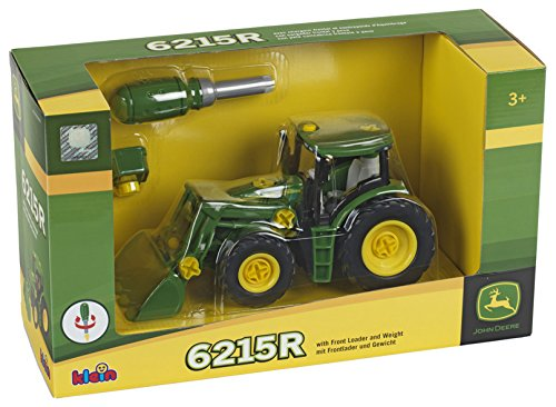 Klein John Deere Tractor With Front Loader