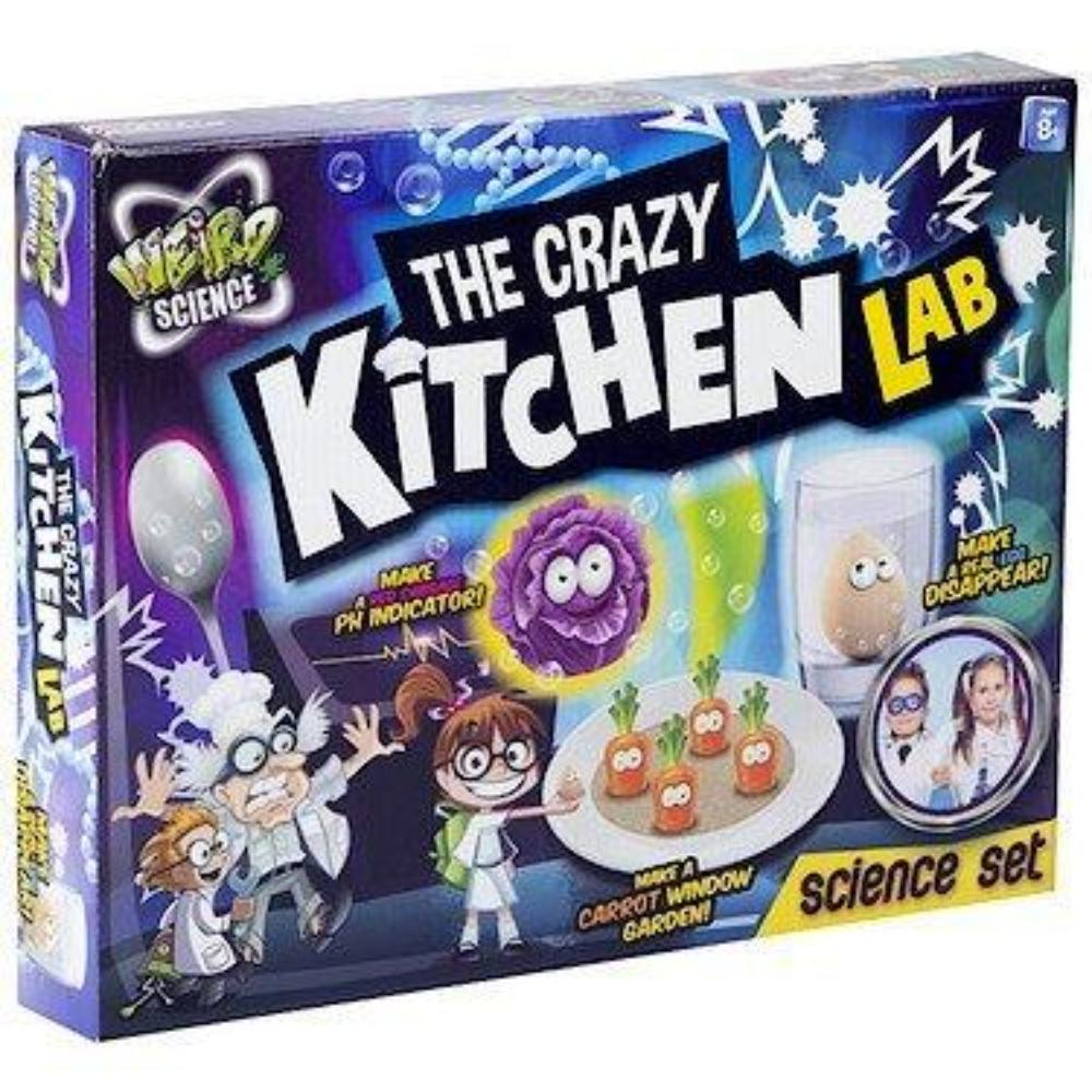Grafix Weird Science The Crazy Kitchen Lab