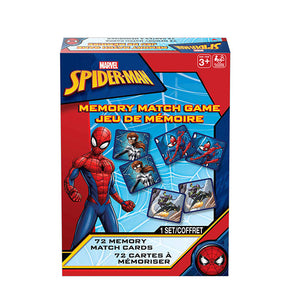 Spiderman Animated Memory Match Game