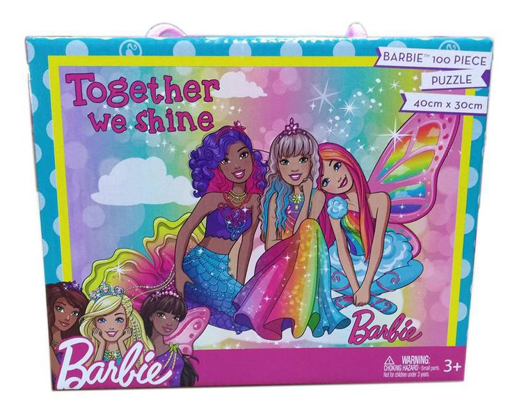 100 Piece Barbie Puzzle