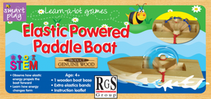 Smart Play Elastic Powered Paddle Boat