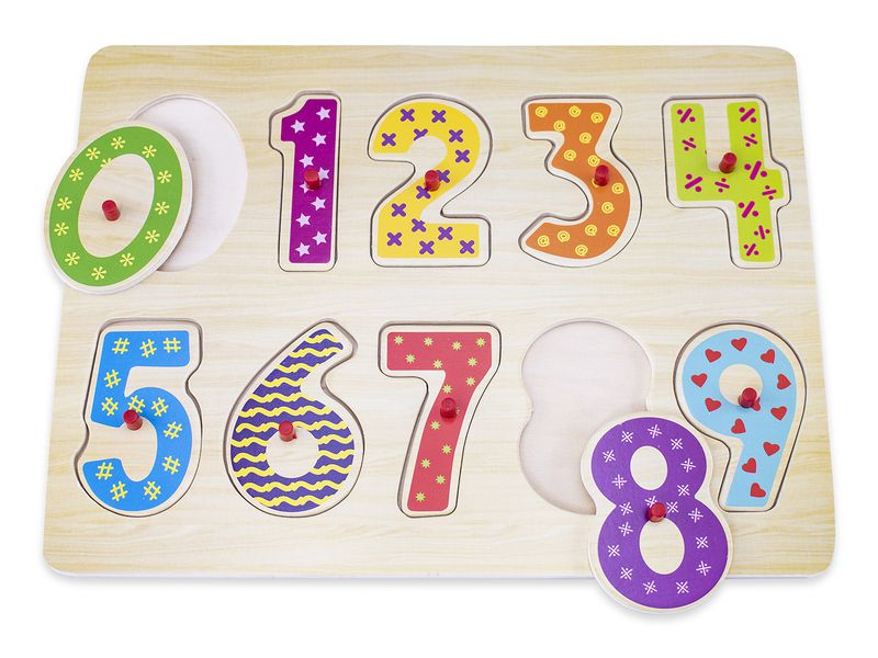 Snookums Wooden Puzzle - Numbers
