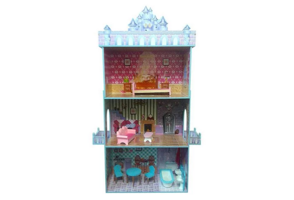 Ice Castle 3 Level Wooden Doll House