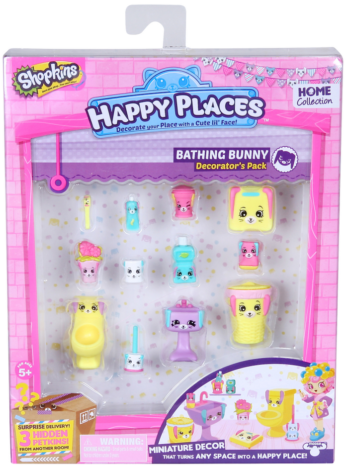 Happy Places Shopkins Decorator - Bathing Bunny