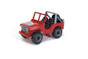 Bruder Cross Country Vehicle Red