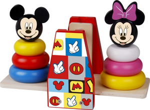 Disney Mickey Mouse Wooden Balance Stacker