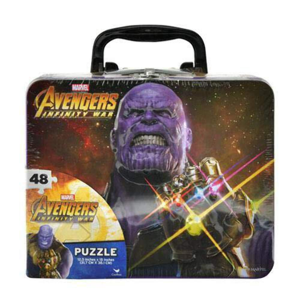 Avengers Infinity War Puzzle In Lunch Tin