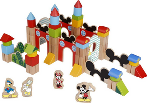 Disney Mickey Mouse Wooden Blocks (60 PCE)