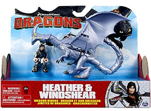 DreamWorks Dragon & Rider - Heather & Windshear