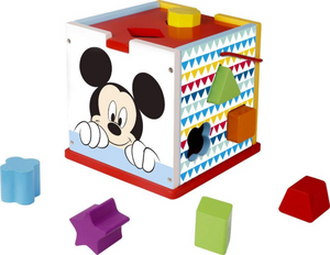 Disney Mickey Wooden Shape Sorter