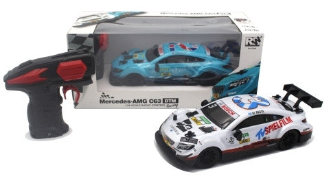 RW Mercedes-AMG C63 DTM Scale 1/24 Radio Control Car - White