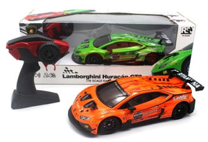 RW Lamborghini Huracan GT3 Scale 1/24 Radio Control Car - Orange