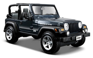 Maisto 1/27 Jeep Wrangler Rubicon Black