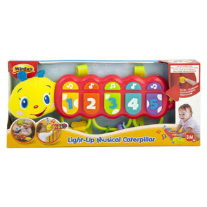 WinFun Light-up Musical Caterpillar