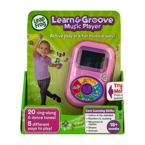 LeapFrog Move & Learn Music Player (Violet)