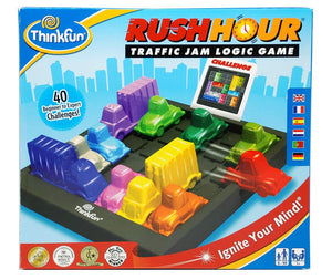 Think Fun Rush Hour Traffic Jam Logic Game and STEM Toy for Boys and Girls Age 8 and Up – Tons of Fun With Over 20 Awards Won, International for Over 20 Years