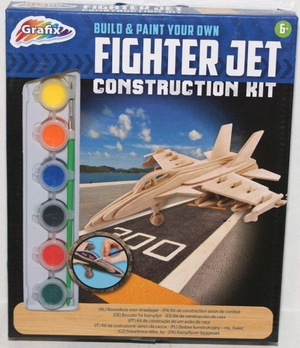 Grafix Fighter Jet Construction Kit