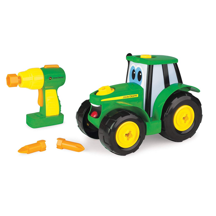 TOMY - John Deere, Build'A'Johnny Tractor