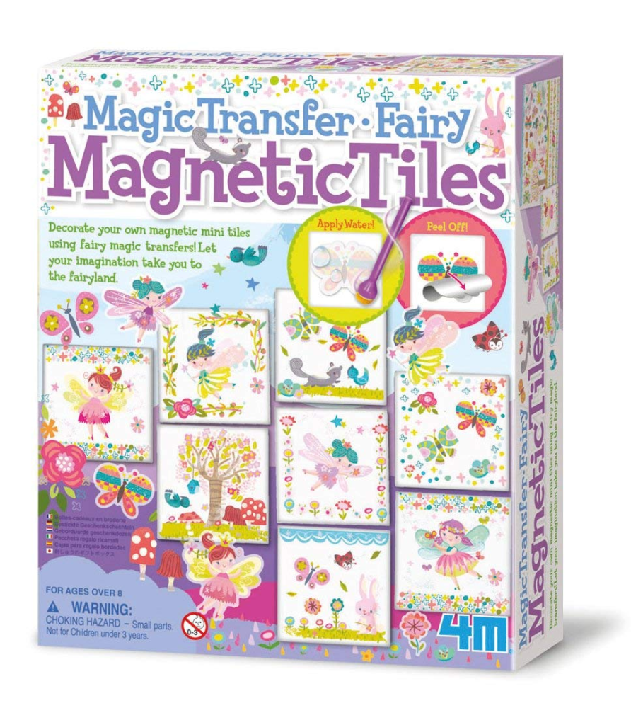 Products 4M Magic Transfer Fairy Magnetic Tiles