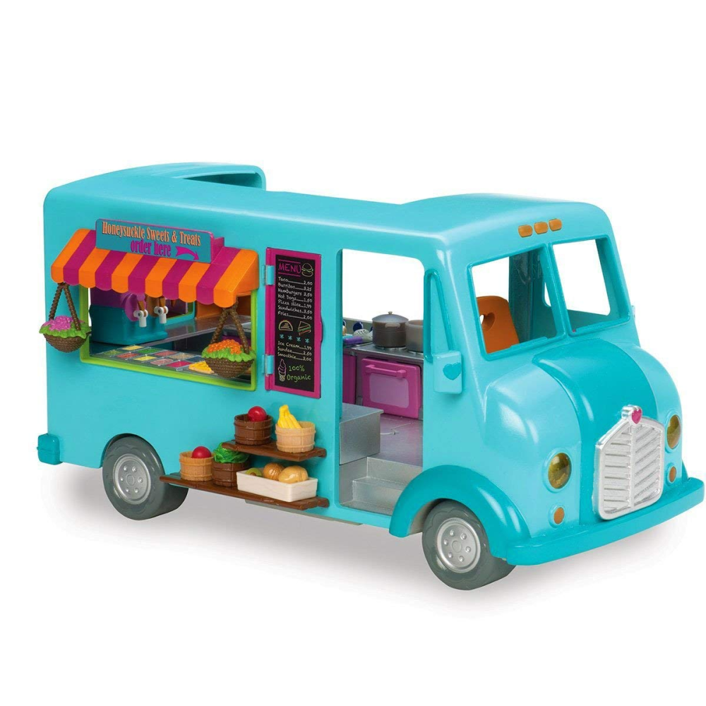 Li'L Woodzeez Food Truck Playset