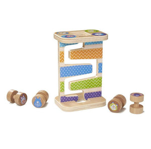 Melissa & Doug First Play Safari Zig-Zag Tower Early Development Toy