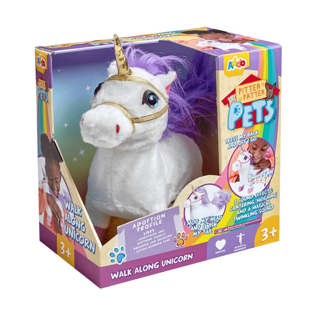 Pitter Patter Pets Walking Unicorn