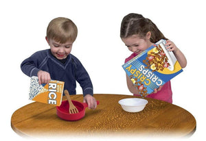 Melissa & Doug Let's Play House! Grocery Boxes Play Food Kitchen Accessory