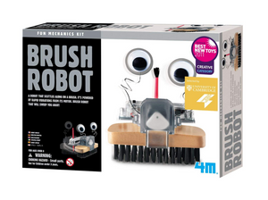 4M Brush Robot Building Kit