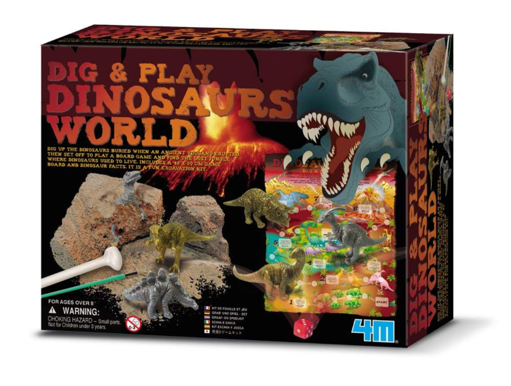 4M Dig-And-Play Dinosaurs World