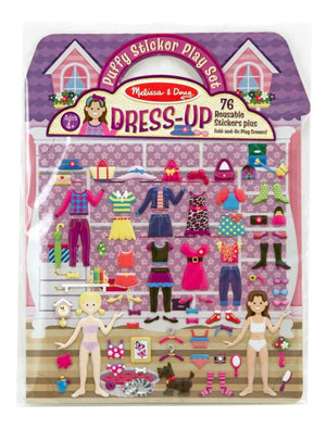 Melissa & Doug Puffy Sticker Activity Book: Dress-Up