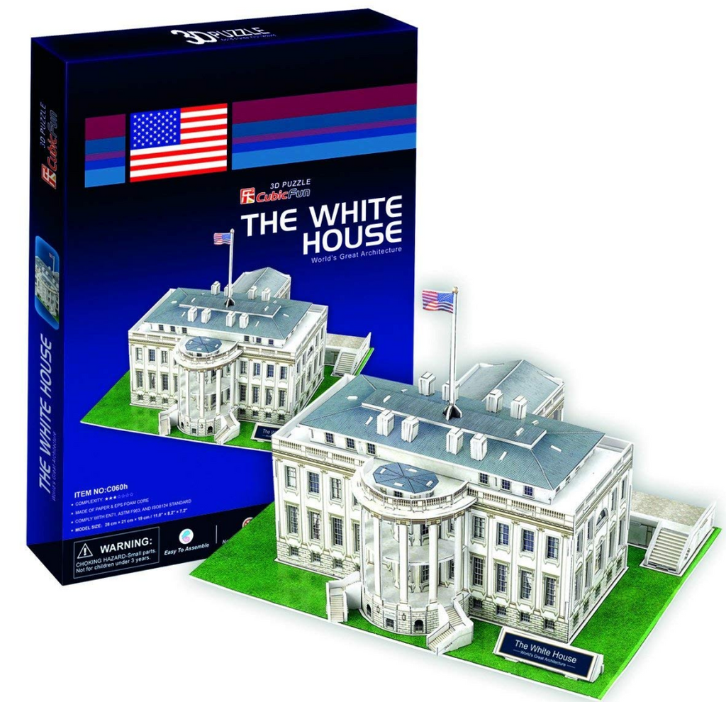 CubicFun The White House (USA) 3D Puzzle 64pc