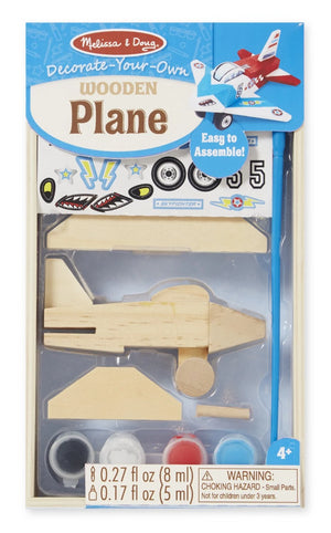 Melissa & Doug Decorate-Your-Own Wooden Plane