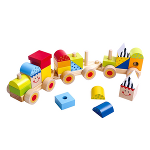 TookyToy Stacking Train