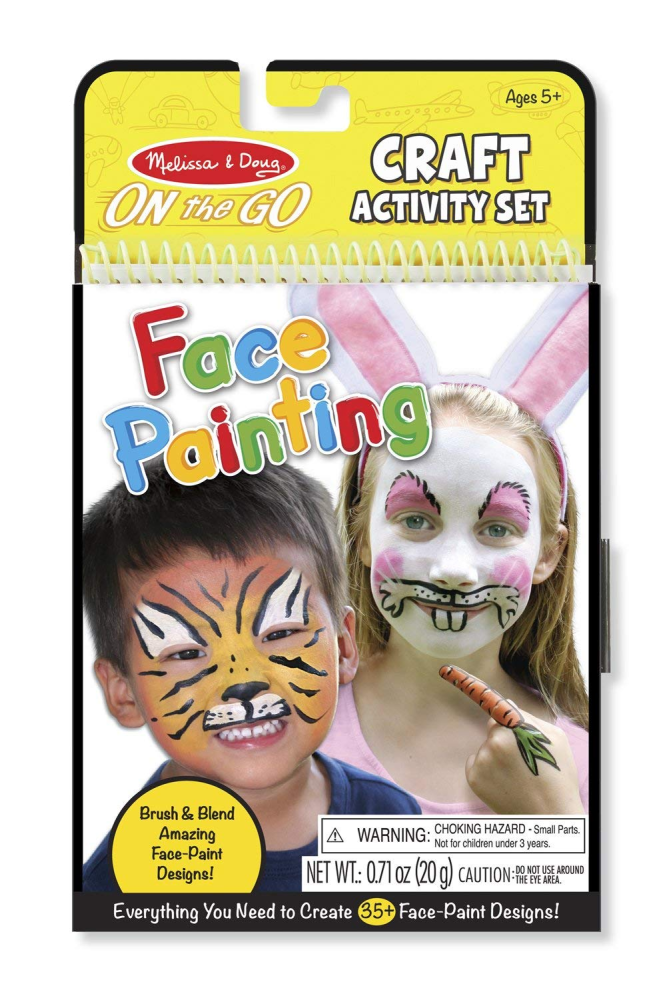Melissa & Doug Face Painting Craft 'n Create Activity Set