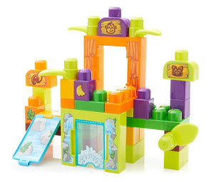 Mega Bloks Storytelling Safari Zoo Friends