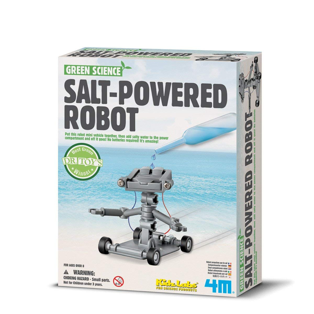 4M Green Science Salt Water Powered Robot