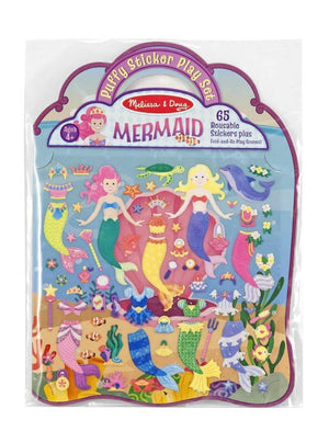 Melissa & Doug Puffy Sticker Activity Book: Mermaids
