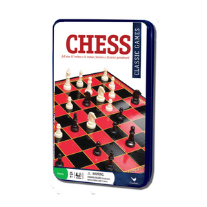 Cardinals Classic Games Chess In A Tin