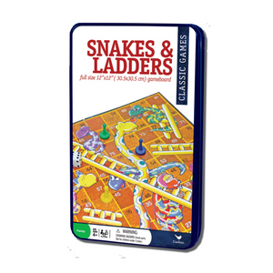 Cardinals Classic Games Snakes & Ladders In Tin