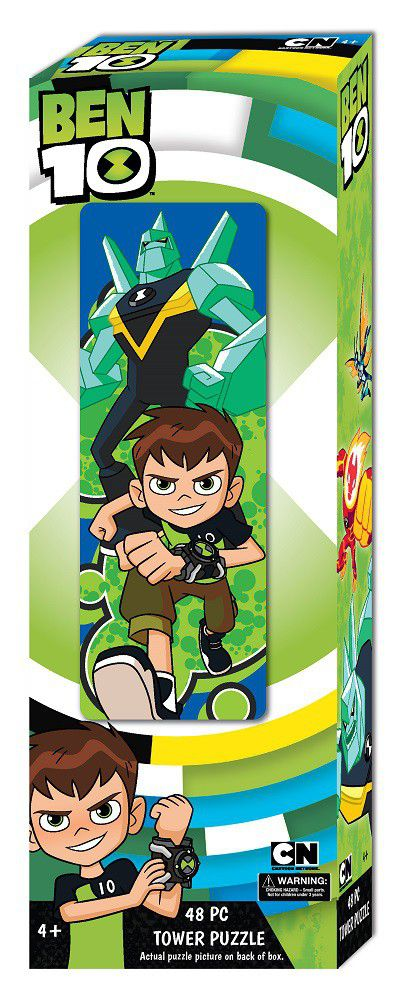 Ben 10 - Mini Tower Puzzle (48PC)