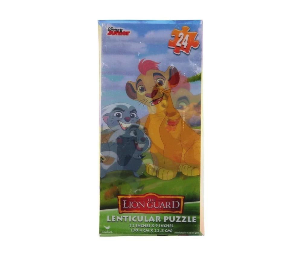 Lion Guard Lenticular Tower Puzzle