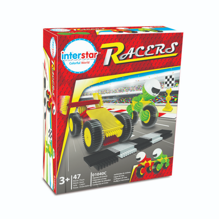 Interstar Racers In Picture Box
