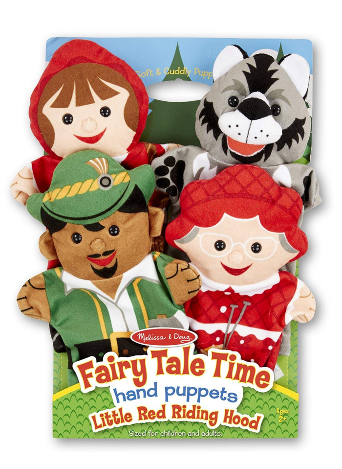 Melissa & Doug Little Red Riding Hood Hand Puppets