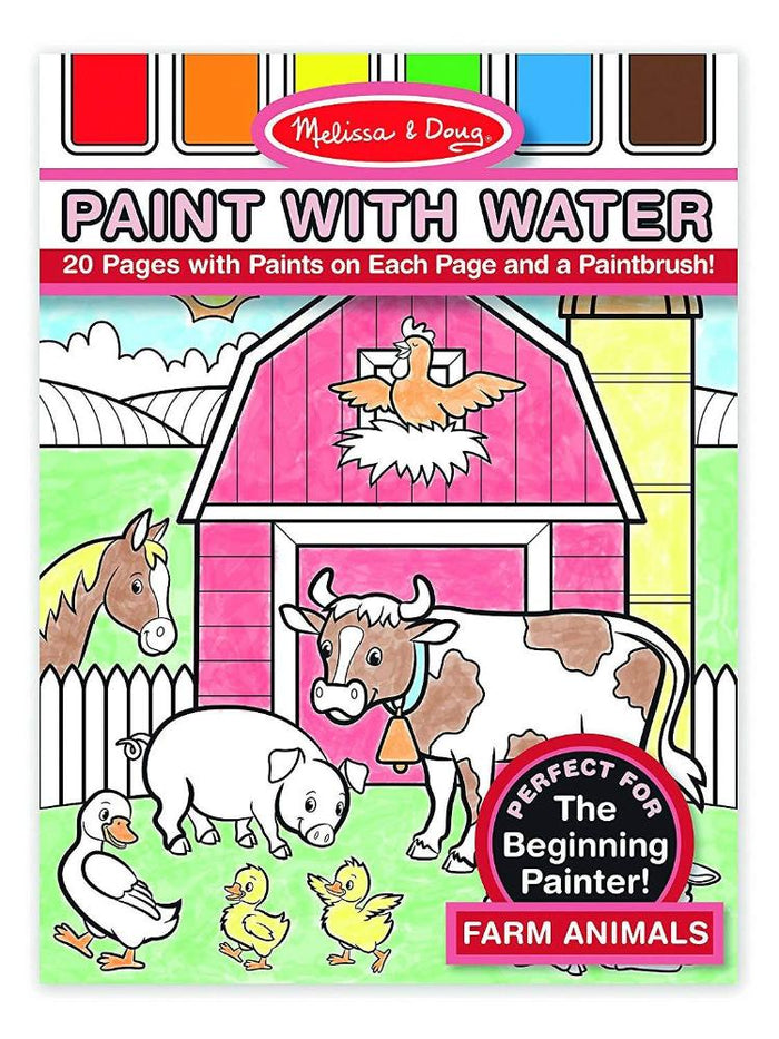 Melissa & Doug Paint With Water Farm Animals