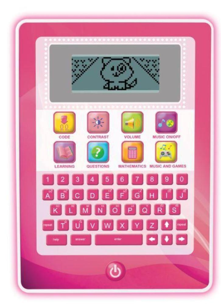 WinFun Kids Learning Pad Pink