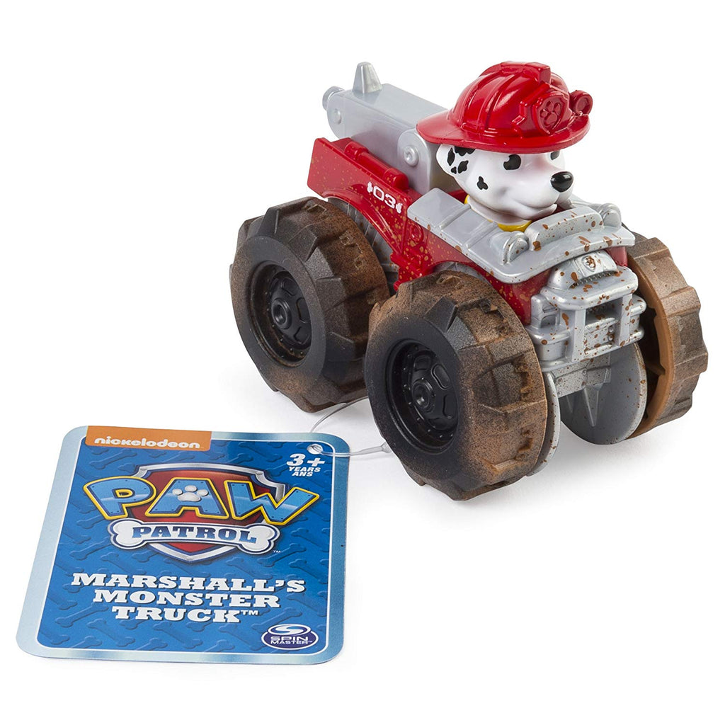 Paw Patrol Rescue Racer Marshal's Monster Truck
