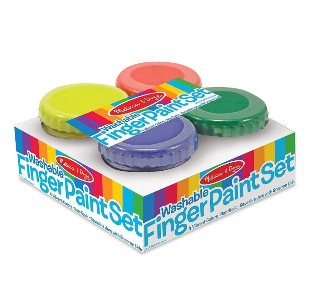 Melissa & Doug Finger Paint Set (4 pcs)