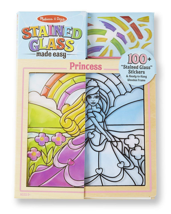 Melissa & Doug Peel 'n Press Stained Glass: Princess